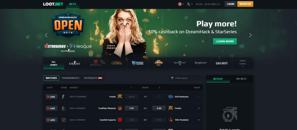 LOOT.BET Esports Gambling Site Review