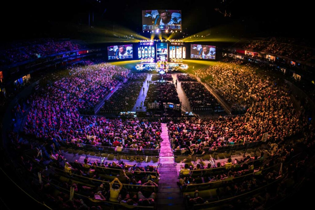 Lanxess Arena - Cologne. Photo - Helena Kristiansson, ESL-One
