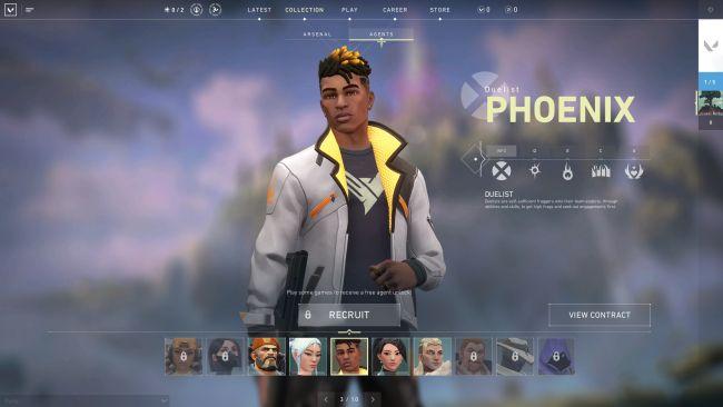 Valorant Character Overview - Phoenix