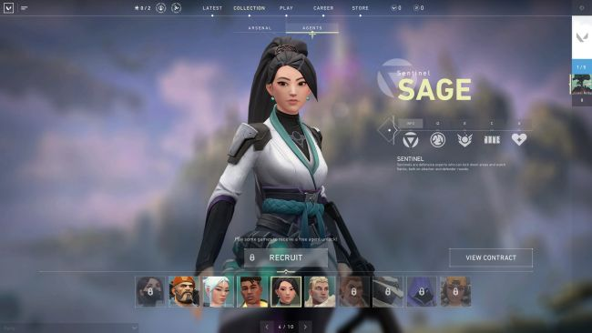 Valorant Character Overview - Sage