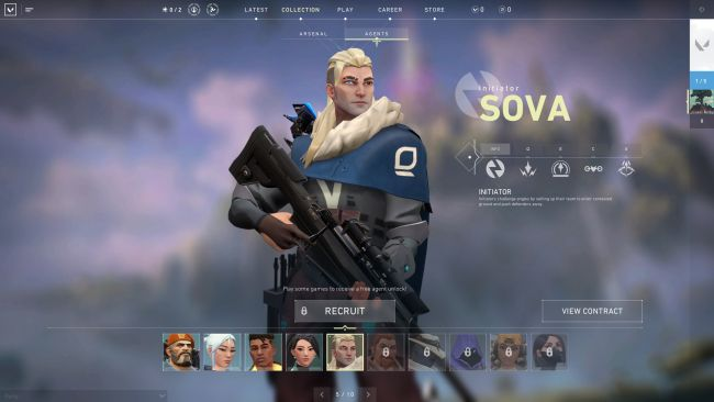 Valorant Character Overview - Sova